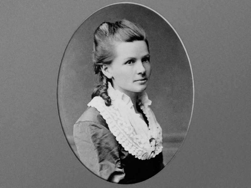 Bertha benz portrait