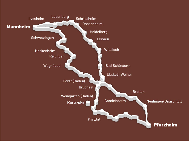 Bertha benz route
