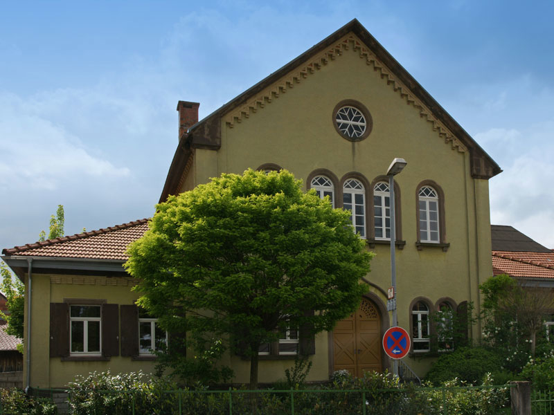 9 gondelsheim synagoge