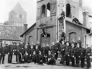 Spritzenhaus um 1905 archiv volker st%c3%bcrmer