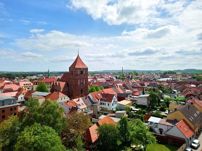 Teterow stadtansicht foto koch