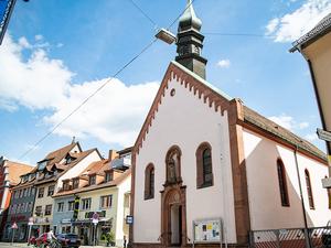Stadtkapelle au%c3%9fenansicht stadt waldkirch